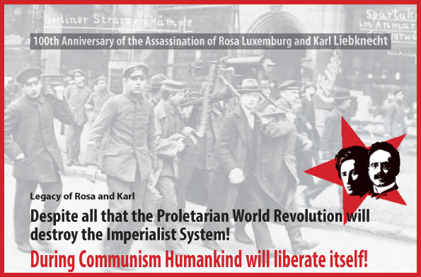 Title of common declaraition on Rosa Luxemburg and Karl Liebknecht 2019